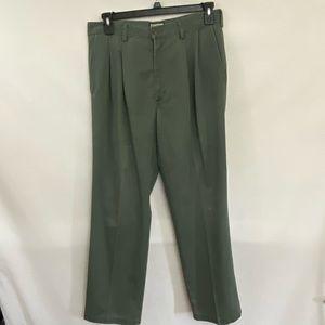 Men's Ivy Crew Khaki Green Pants Size 34x30 R-69